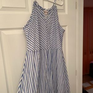 NWOT summer striped dress